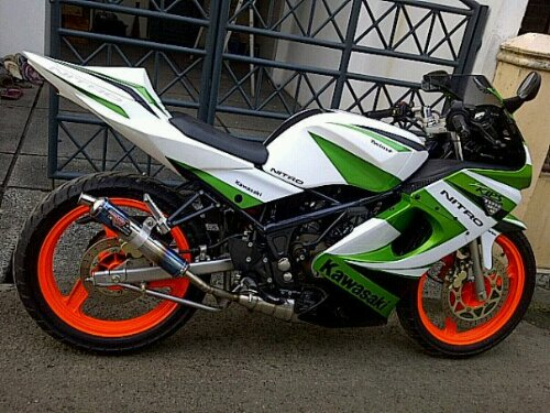 Variasi Motor Ninja Rr 2013  paling bagus